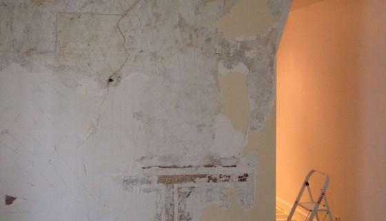Remise en état d'un appartement Rue de Rivoli Paris 1