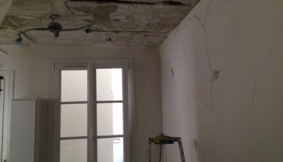 Travaux de peinture dans un appartement Avenue de Versailles Paris 16e